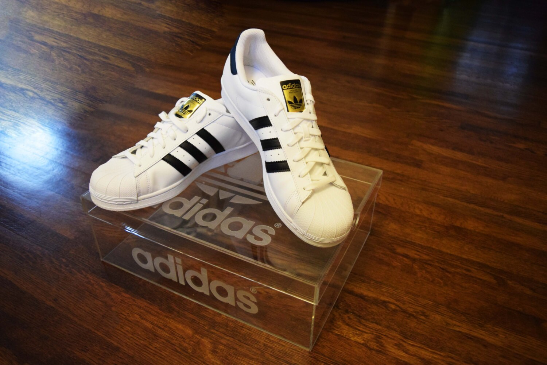Adidas Clear Acrylic Shoe Box | Etsy