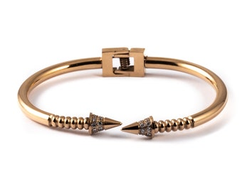 304 Stainless Steel Rose Gold Cuff