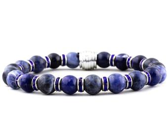 Ocean Deep: Blue Sodalite Gemstone & Blue Crystals