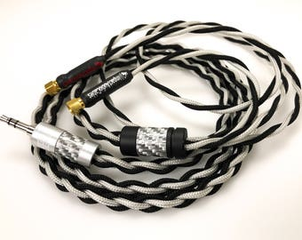 Custom Infinity Series Hifiman Replacement Cable (SMC Screw on Connectors)
