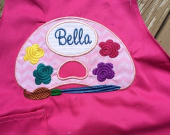 Kids/ toddler painting smock! Personalized!