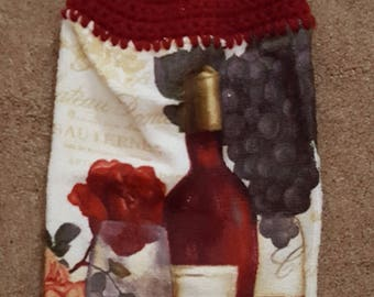 Crocheted Kitchen Towel Topper