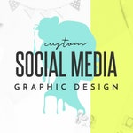 Custom Social Media Graphic, Social Media Graphic Design, Facebook Event Cover Photo, Instagram Post Design, Digital JPG Only
