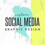 Custom Social Media Graphic, Social Media Graphic Design, Facebook Event Cover Photo, Instagram Post Design, Digital JPG Only