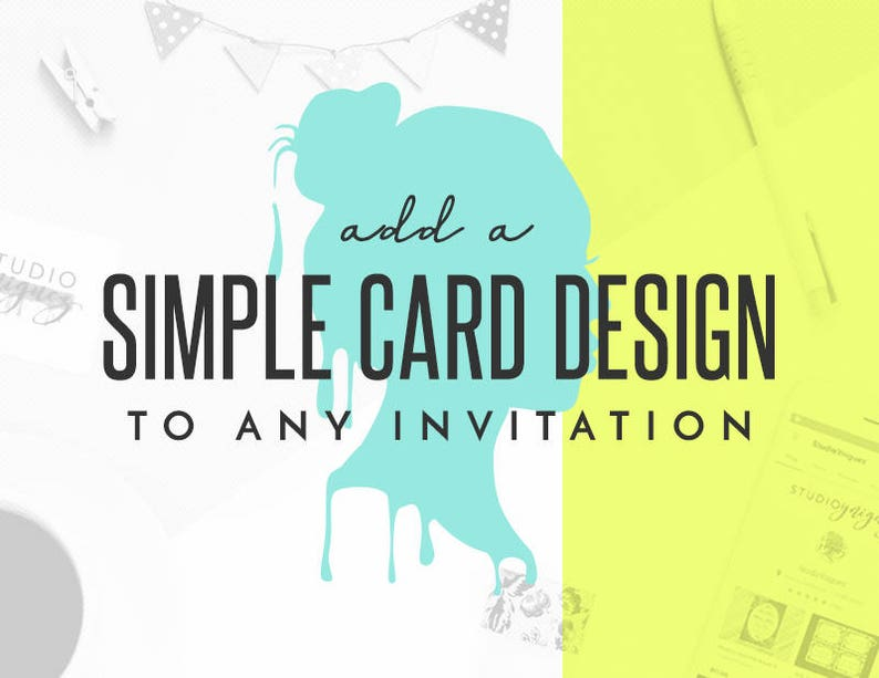 Add an Additional Card to Any StudioYniguez Invitation or image 0