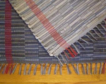 "Recycled Denim Rag Rugs/35"" X 25"""