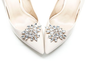 Gold and crystal Jewelry Decorations Shoe Clips - Mififi Shoe Clips d5dc01d2b5