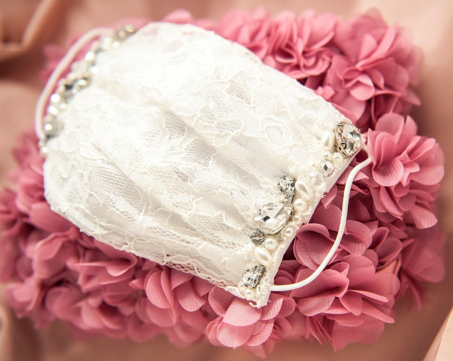 Brautmaske Spitze
