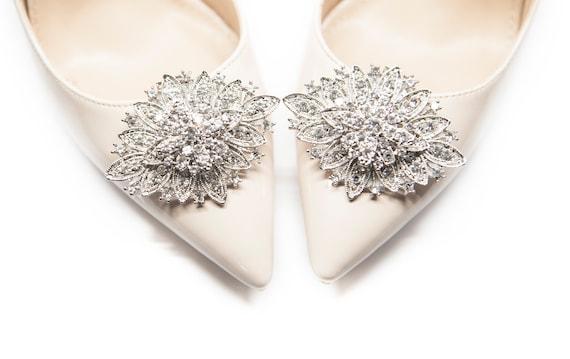 334d981d3 Duże Eleganckie ozdoby klipsy do butów MififiChristmas Gift | Etsy
