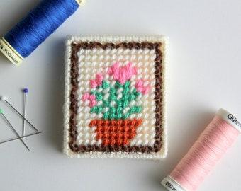 Sewing Needle Book, Needle Holder, Embroidery Needle Case, Needle Organizer, Travel Needle Holder, Sewing Gift, Needlework, Needlecraft