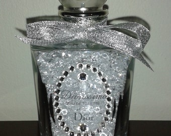 Stunning Dior Crystal (Empty) Bottle for Display