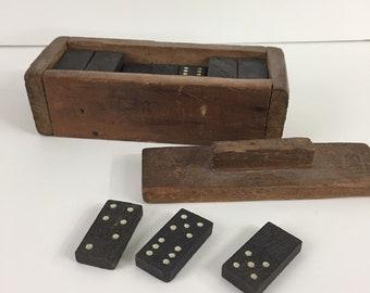 Wooden Dominoes Etsy