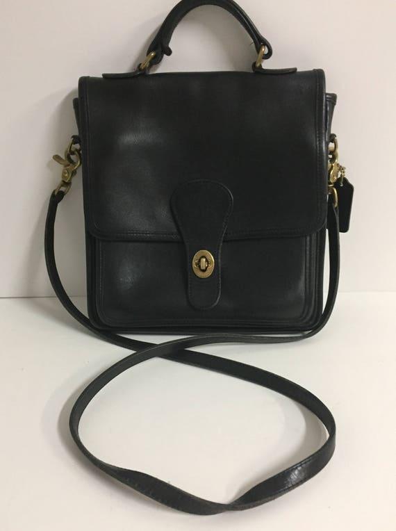 Vintage Coach Bag/ Vintage Coach Station Bag/ Vint