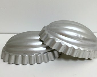 Vintage Kitchenware Molds/ Vintage Aluminum Molds