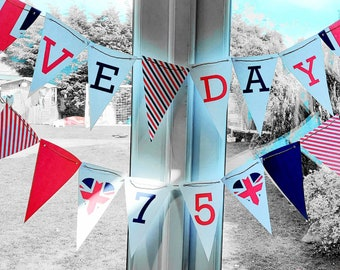 2 X10-Metre PVC Double-Sided Bunting 20 Flags