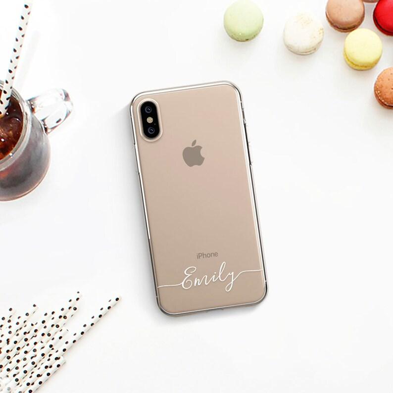 Name Iphone Xs Max Case Custom Iphone X Case Personalized Iphone 8 Plus Case Iphone 8 Case Iphone Xr Case Iphone 7 Case Clear Iphone 10 Case