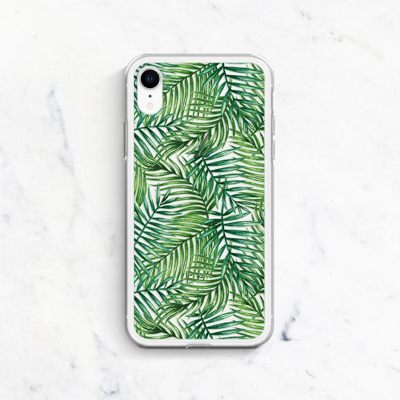 iphone xs case palm tree