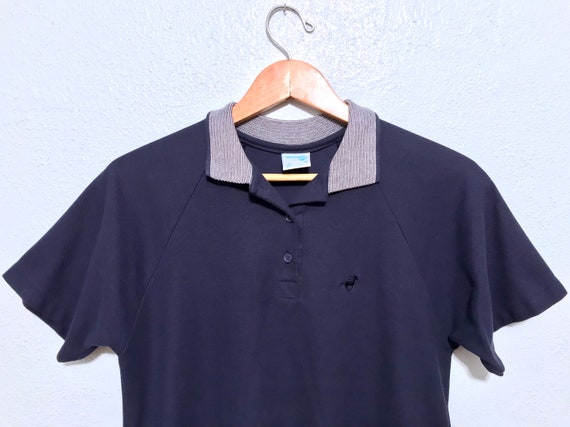 Vintage 80/'s Wrangler Short Sleeve Polo Shirt XL USA