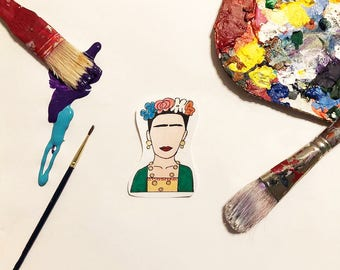 Viva Frida Handmade Sticker / Frida Kahlo Sticker
