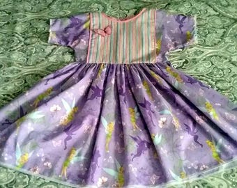 Violette Fields Pixie Tinkerbelle 100% cotton size 7 Dress Reduced Price!!