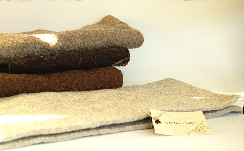 Eco felted pet bed in your chosen colour  cat lounger  felt image 0