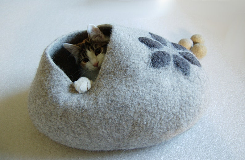 Pet bed  Cat bed  Cat cave  puppy bed  cat house  pet image 0