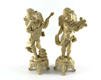 Angel Cherub Depose Italy Set, Vintage Cherub, Vintage Angel