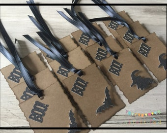 Halloween Gift Tags, Halloween Tags For Goody Bags, Halloween Party Supplies, Halloween Party Decorations, Halloween Party Favors