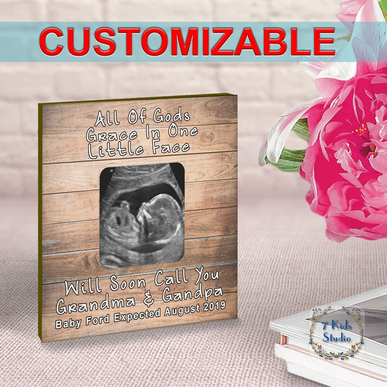 SALE Ultrasound Frame Pregnancy Gift For New Parents Gift For New Mom and Dad Gift Sonogram Frame New Mommy Gift New Mom Gift New Mom Frame