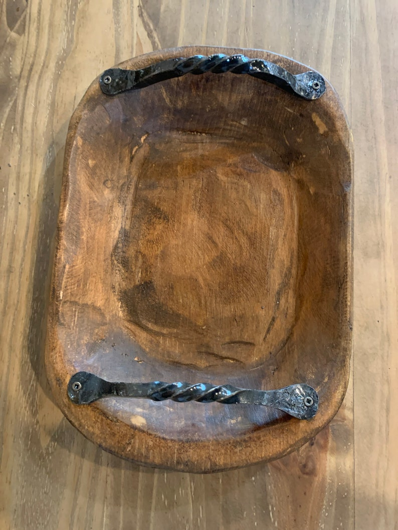 Medium Bowl Handles Stained with