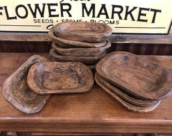 Wholesale Bundle of 10 - Mini Dough Bowls Stained