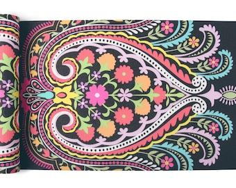 Lolita Yoga Mat-yoga- printed yoga mat- floral-yoga mat-bright-blossom-yoga mat