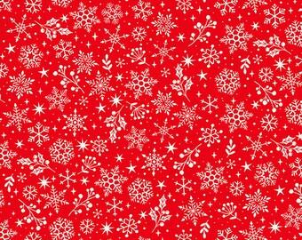 Fat Quarter 1294 Scandinavian Christmas Scatter Grey By Henley Studio Makower