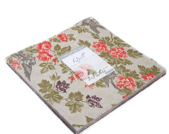 "QUILL - by 3 Sisters for Moda Fabrics - Layer Cake - (42) 10"" x 10"" Squares - 44150LC"