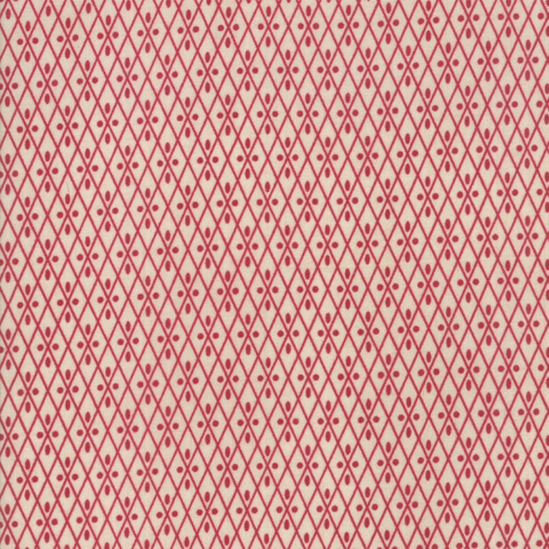 10 x 10 Squares Layer Cake - by French General for Moda Fabrics 13830LC Vive La France 42
