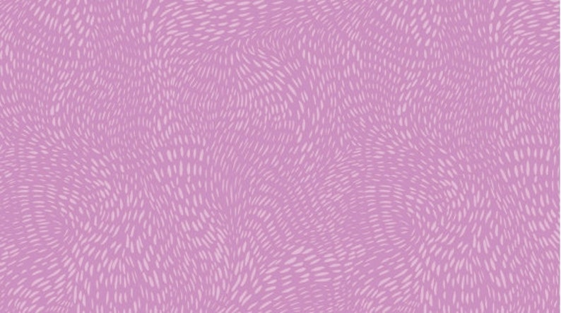 DASH FLOW  by Rae Ritchie for Dear Stella Fabrics SRR1300-12 yard continuous cuts Violet