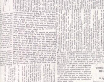 Newsprint Fog - COMPOSITIONS  by BasicGrey for Moda Fabrics - Grey - 30451 14