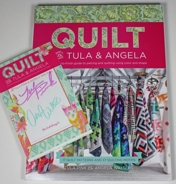 Autographed Quilt With Tula Angela Book By Tula Pink And Etsy