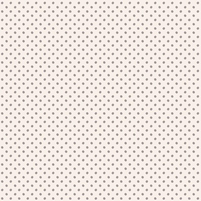 TILDA Tone Finnanger 6 Piece Fat Quarter Bundle Grey Basic Classics TIL300036