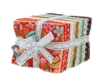 MERAKI - 34 Piece Fat Quarter Bundle by BasicGrey for Moda Fabrics -  30490AB