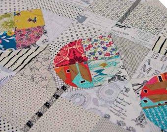 THE AVENUE - Pattern & Acrylic Templates Set from Jen Kingwell Designs JKD 5927