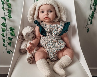 Baby sheep lamb hat for photography photo prop