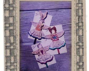 Angel Primitive Pins, Cranberry Juncion Pattern, Vintage Ornaments, Angel Gathetings, Angels, Folk Design, Primitive, Vintage Pattern, Uncut