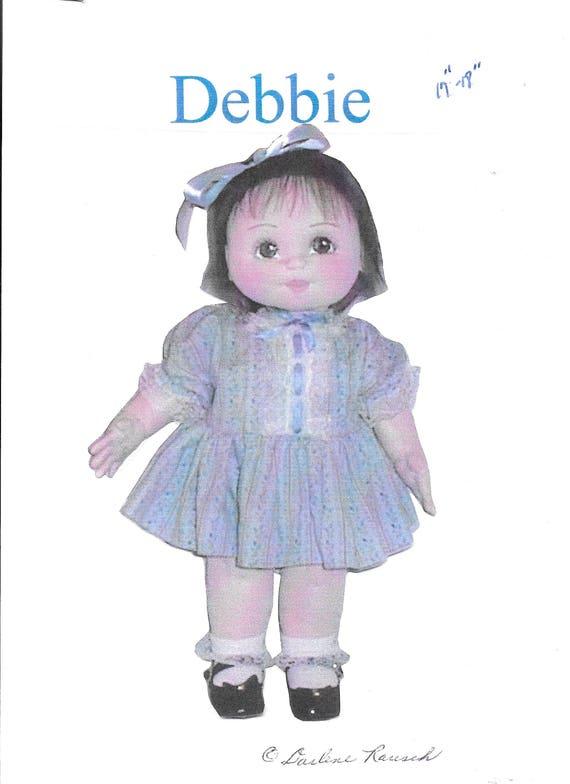 Vintage Doll Pattern, Soft Sculpture Doll Pattern, 90s Sewing Dolls ...