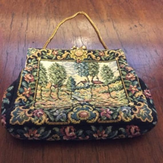 1940's Petit Point Handbag