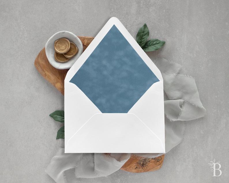 Wedding envelopes Blue envelope liners French blue envelope liner Wedding envelope liners Suede envelope liner Velvet envelope liner