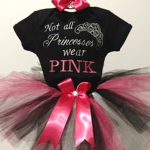 Turquoise Pink Green Initial Outfit Onesie Tutu FREE Hair Bow Personalized
