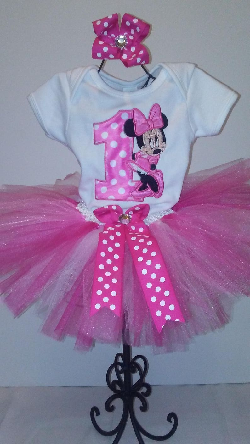dfa5f127c58 Pink Minnie Mouse 1st Birthday Outfit Minnie Mouse 1st Birthday Outfit  Minnie Mouse Birthday Shirt Pink Minnie Mouse Shirt Personalized