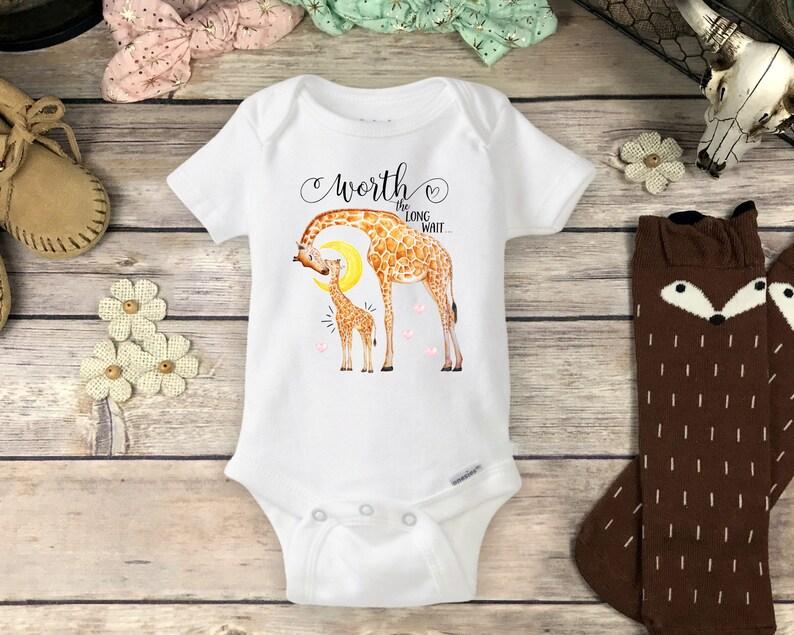 2bfdaa744 Baby Giraffe Onesies® or Carter s® Brand Baby Bodysuit