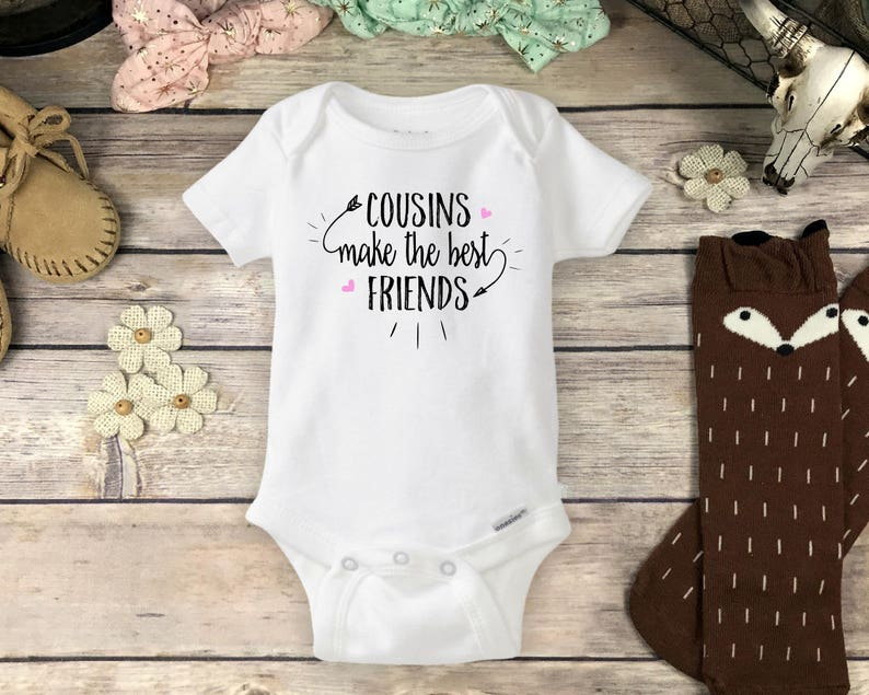 9f1204debbd4 Cousins Make the Best Friends Onesies® Brand or Carter's® | Etsy